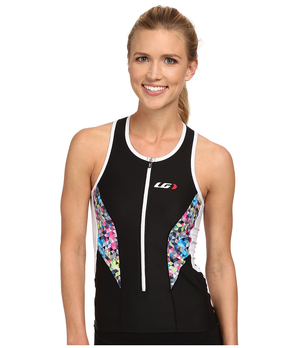Louis Garneau - Women Pro Top (Black/Multi) Women's Clothing