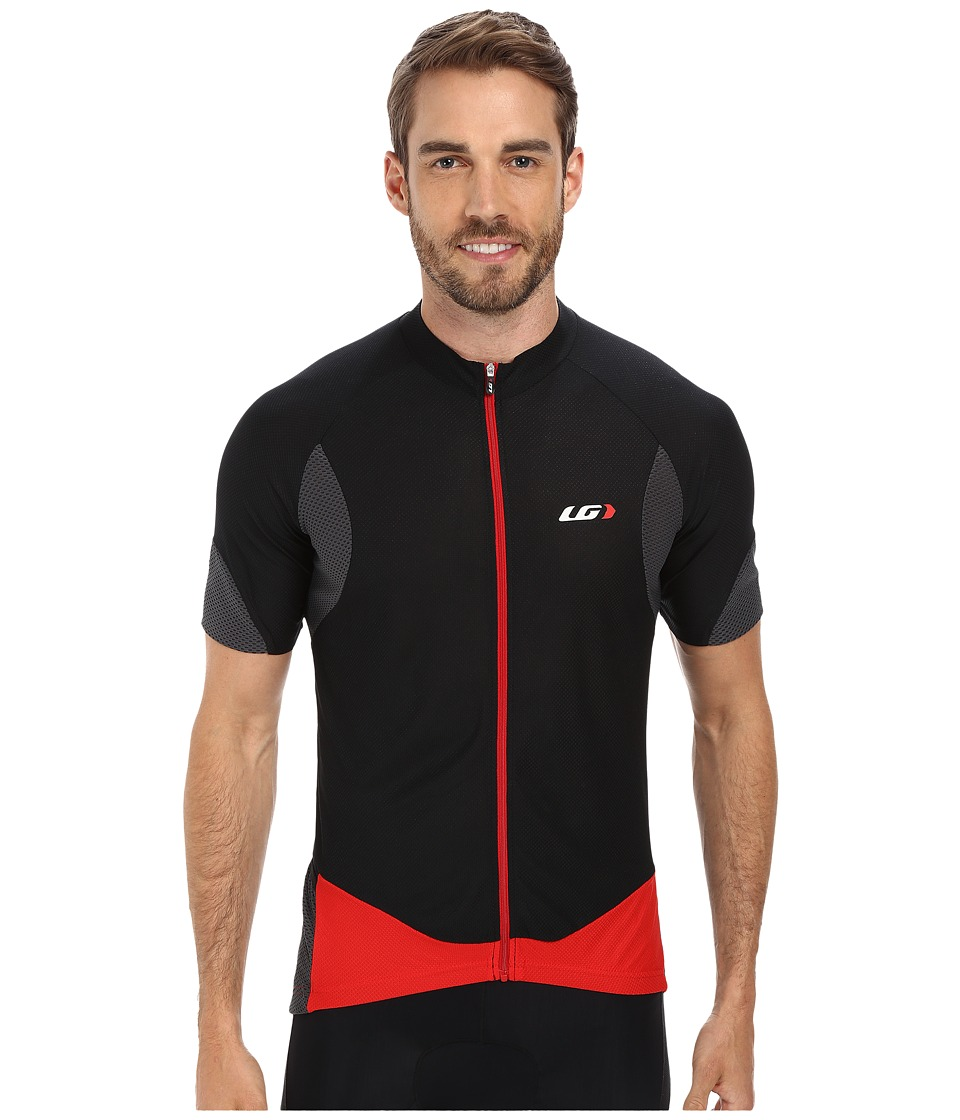 Louis Garneau - Metz Lite Jersey (Black/Gray/Red) Men's Workout