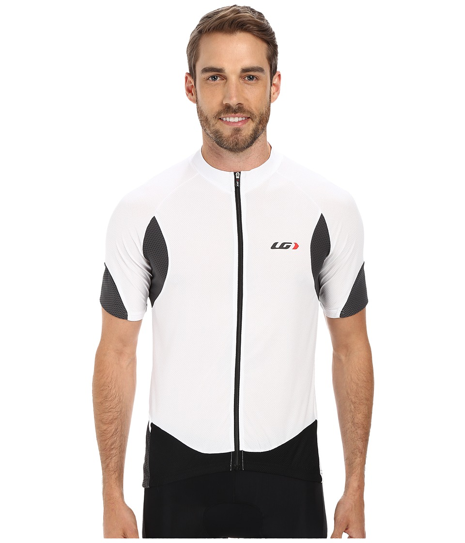 Louis Garneau - Metz Lite Jersey (White/Black) Men's Workout