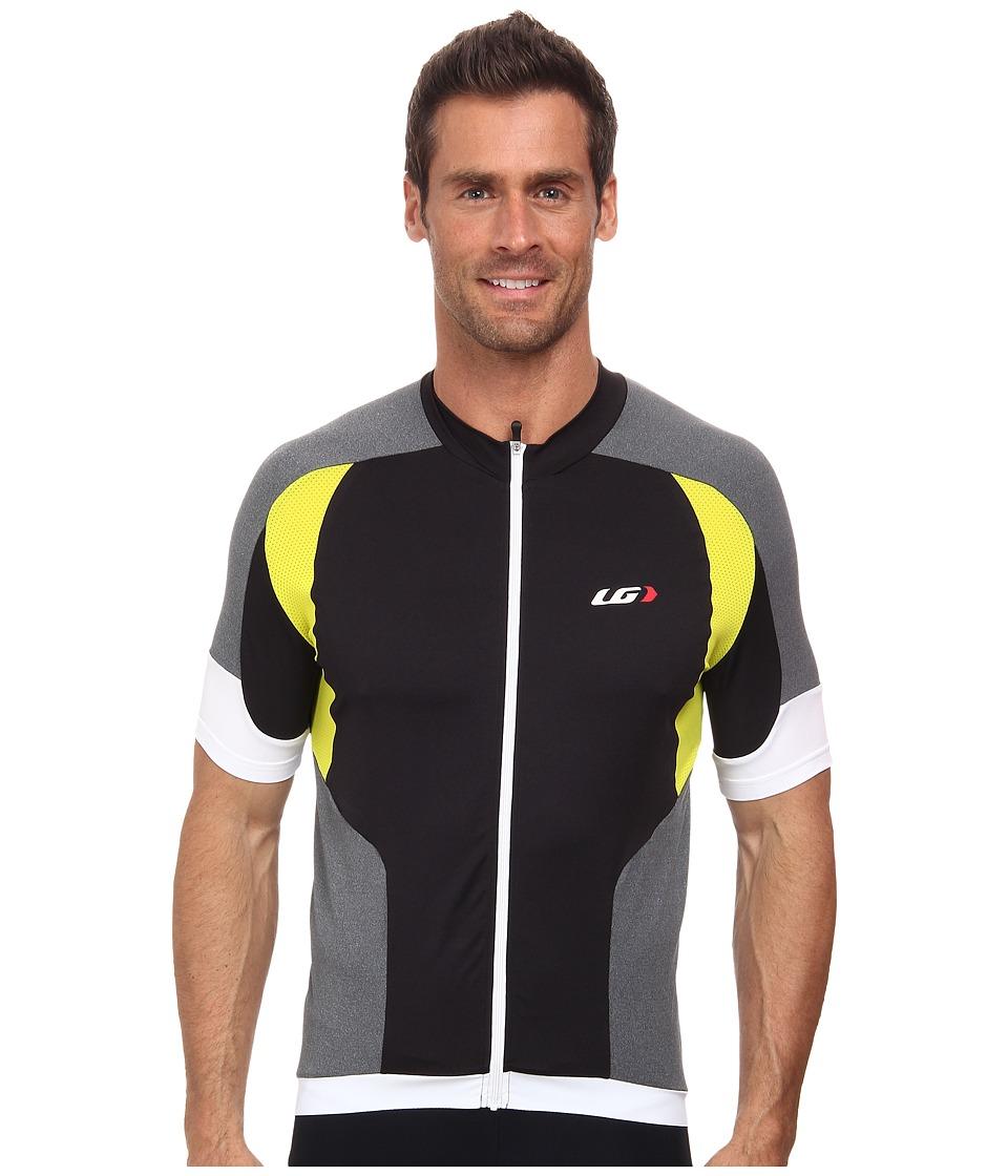 Louis Garneau - Icefit Jersey (Black/Yellow) Men's Clothing