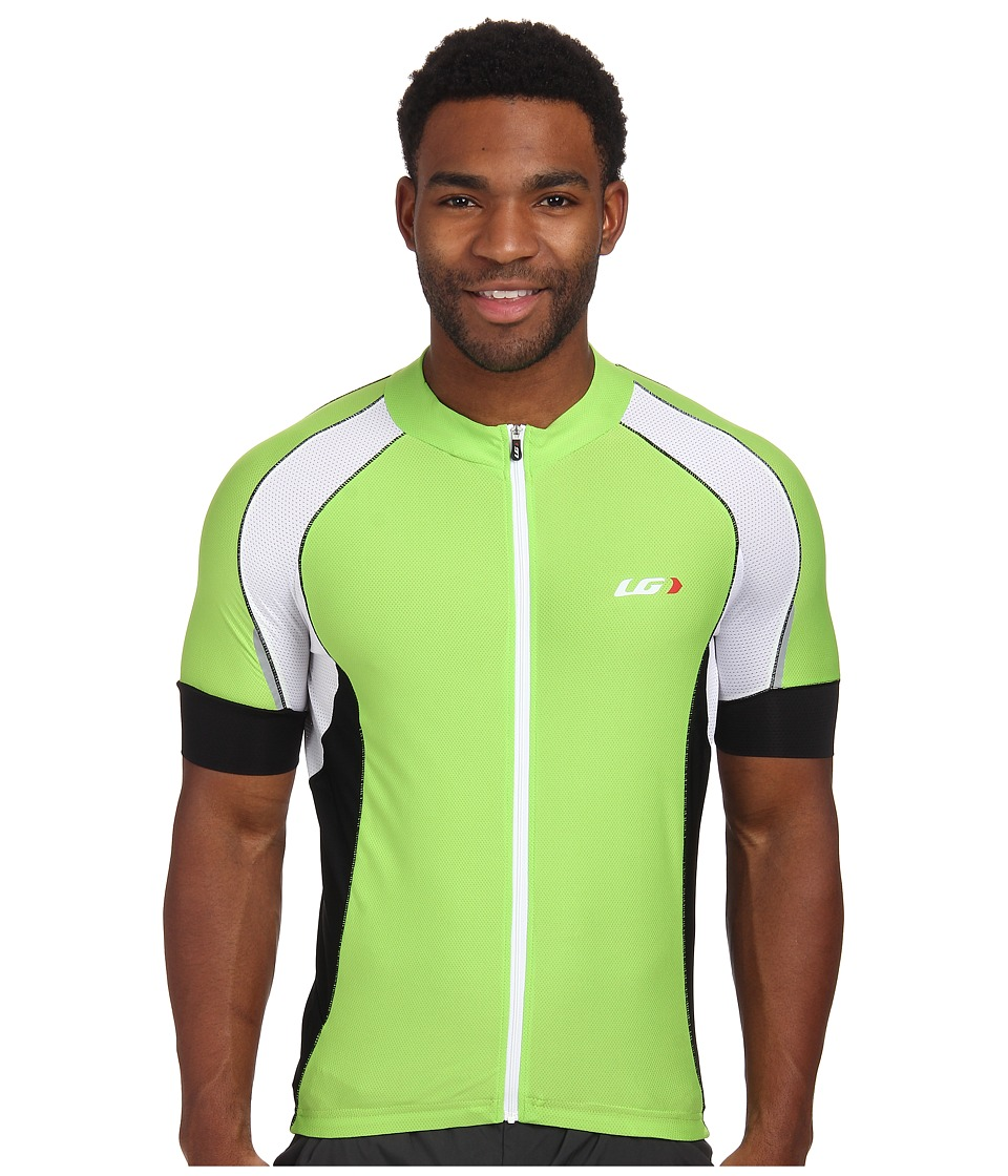 Louis Garneau - Lemmon Vent Jersey (Fluo Green) Men's Clothing