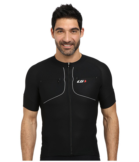 Louis Garneau - Evans GT Jersey (Black) Men's Workout