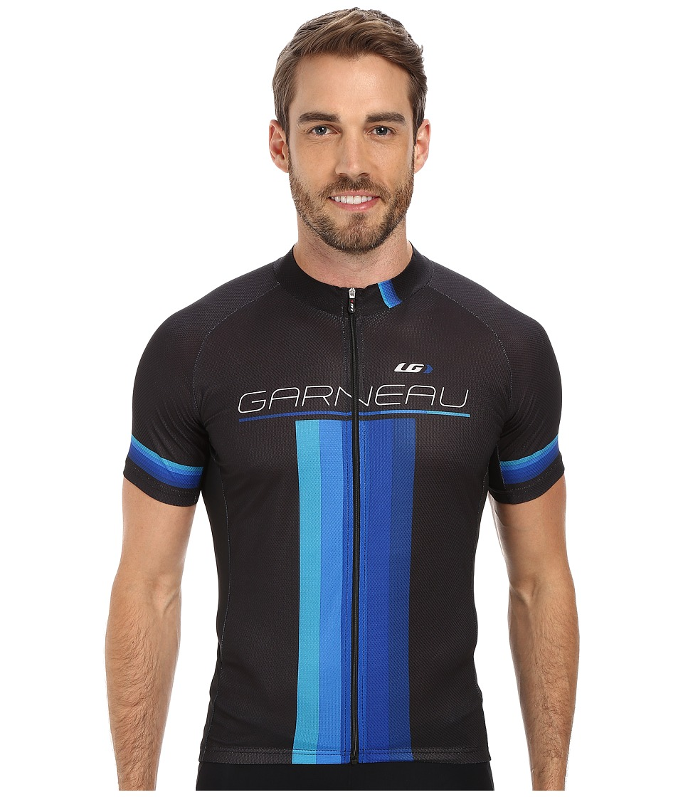 Louis Garneau - Equipe GT Series Jersey (Black/Blue) Men's Workout