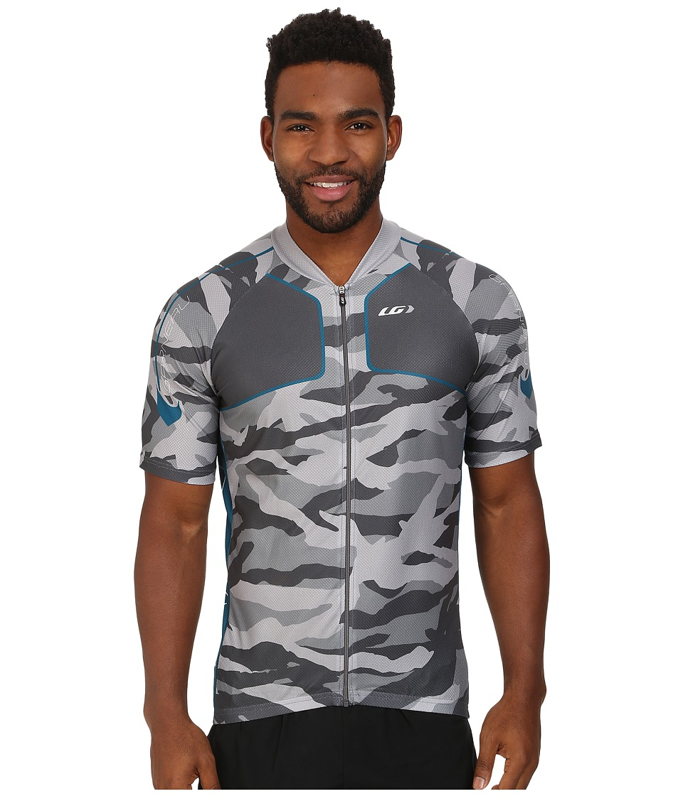 Louis Garneau - Diamond MTB Jersey (Camouflage Silver) Men's Workout