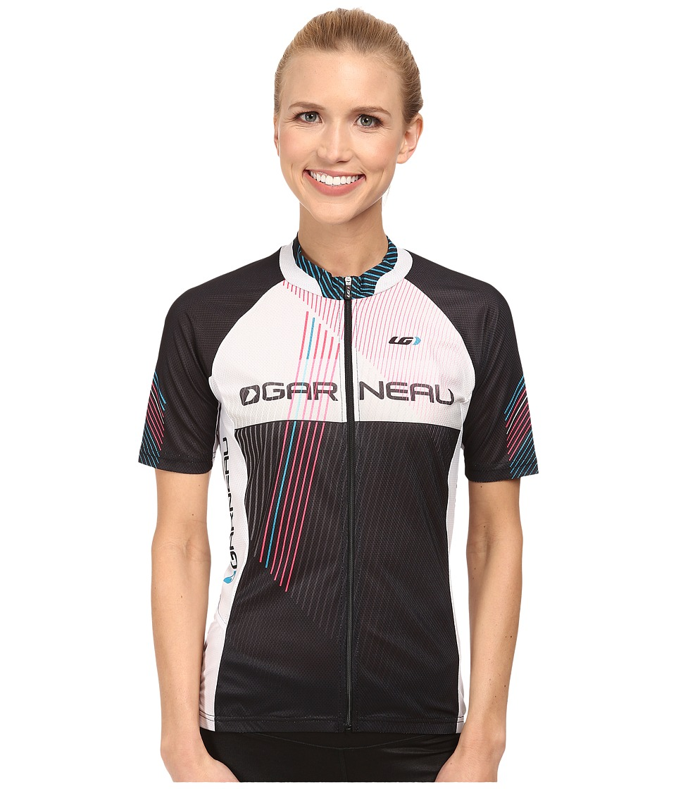 Louis Garneau - Equipe GT Series Jersey (Black/White) Women's Workout