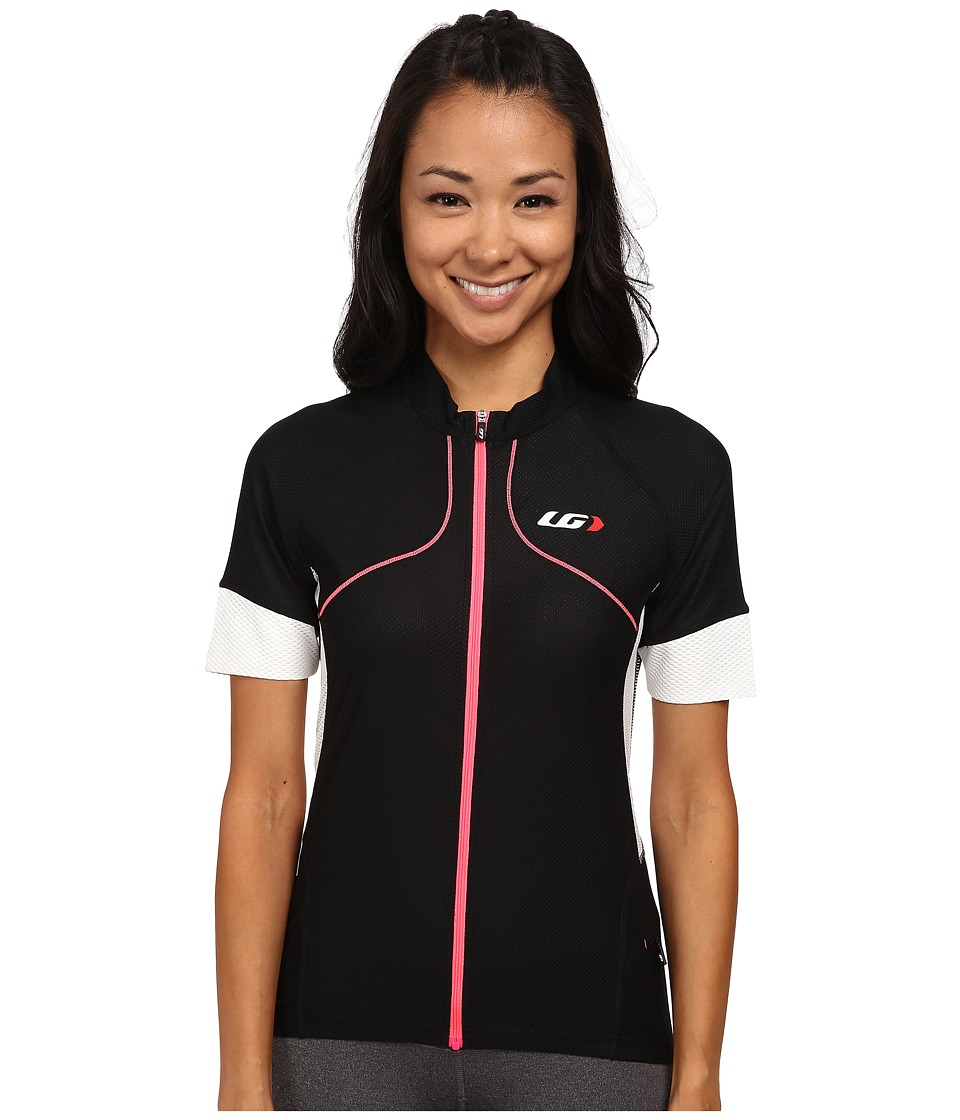 Louis Garneau - Evans GT Jersey (Black/Pink) Women's Workout
