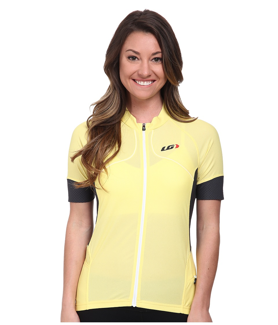 Louis Garneau - Evans GT Jersey (Lemon Tonic) Women's Workout