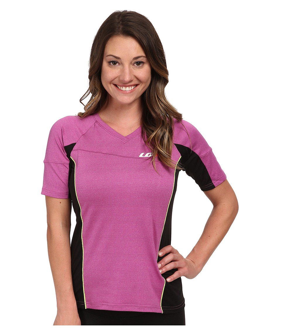 Louis Garneau - HTO Tee (Candy Purple) Women's Workout