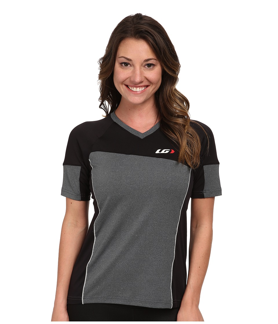 Louis Garneau - HTO Tee (Black/Grey) Women's Workout