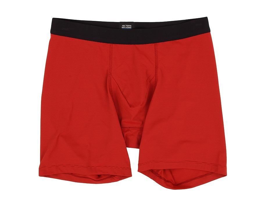 Arc'teryx - Phase SL Boxer Short (Magma) Men's Underwear