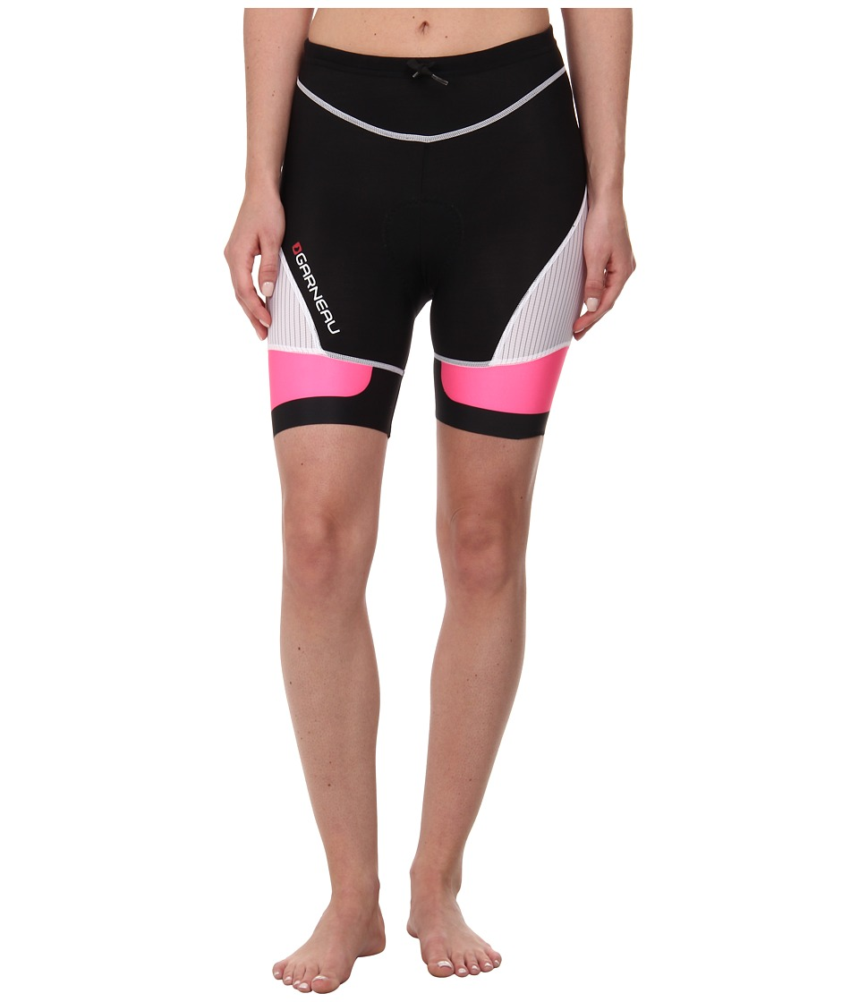 Louis Garneau - Pro 7.25 Tri Shorts 2 (Black/Pink Flash) Women's Shorts