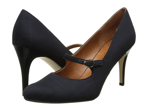 Ann Marino - Teacher (Navy) Women's Shoes