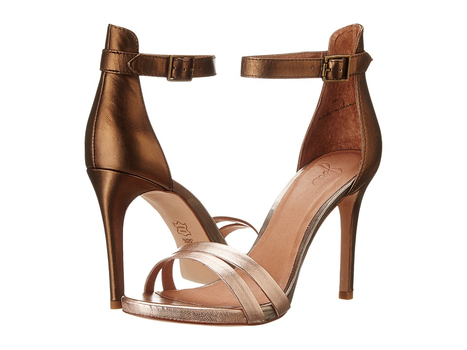 Joie - Jena (Bronze/Pewter/Rose Gold) High Heels