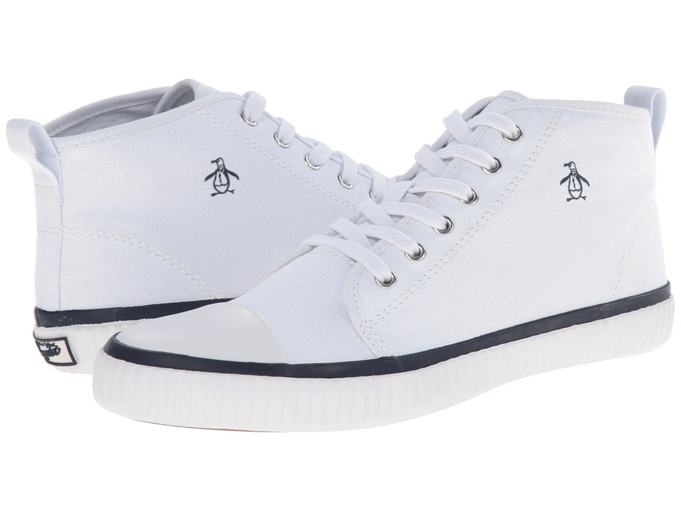 Original Penguin - Sneakerish (White/Navy) Men's Lace up casual Shoes