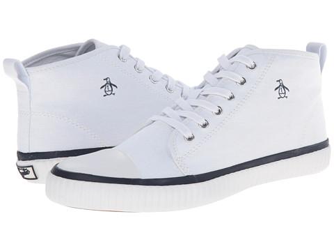 Original Penguin - Sneakerish (White/Navy) Men