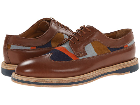 Paul Smith - Men Only Maddison Wingtip (Tan) Women