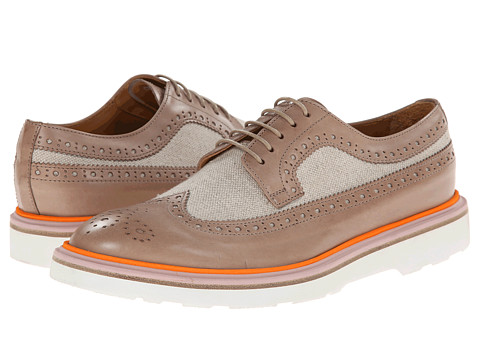 Paul Smith - Men Only Grand Wingtip (Taupe) Women's Shoes