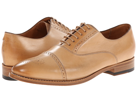 Paul Smith - Men Only Bertie Cap Toe (Light Vacchietta Parma) Women