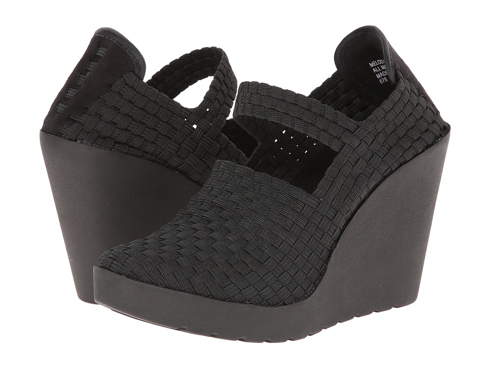 Steven - Melody (Black) Women's Shoes