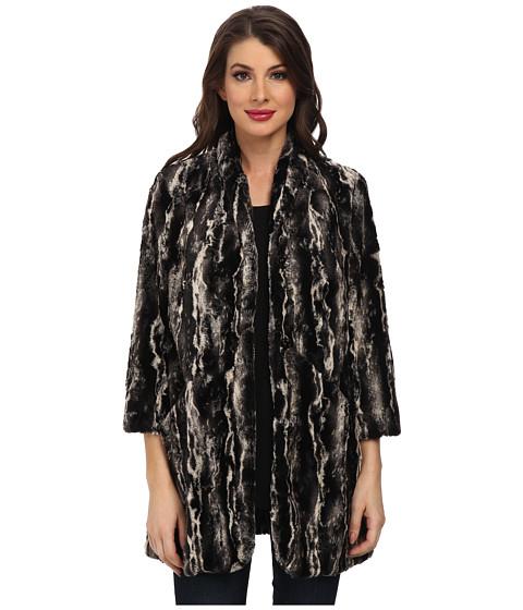 Karen Kane - Marble Faux Fur Coat (Multi) Women