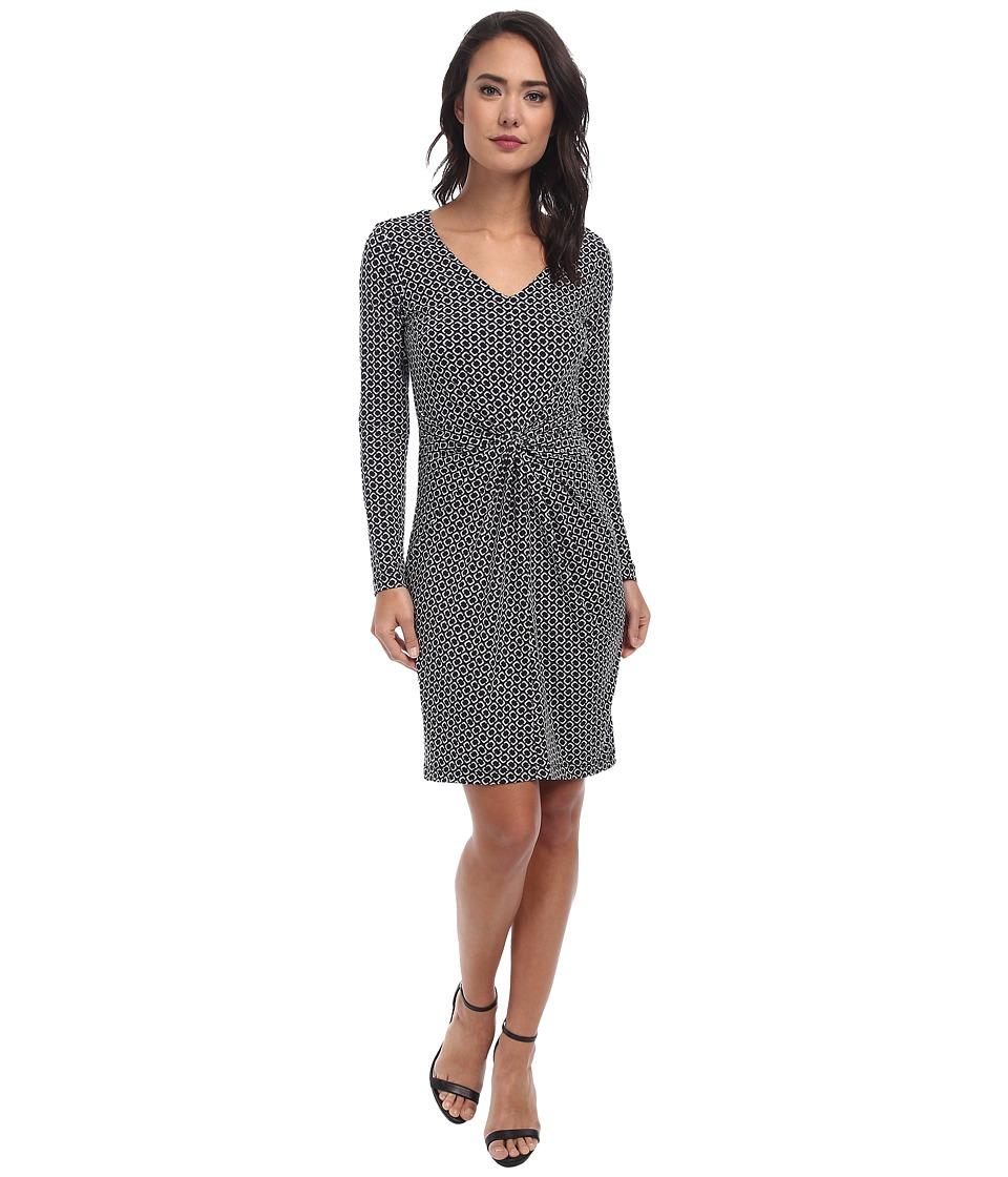 Karen Kane - Broken Chain Print Tiffany Dress (Print) Women's Dress