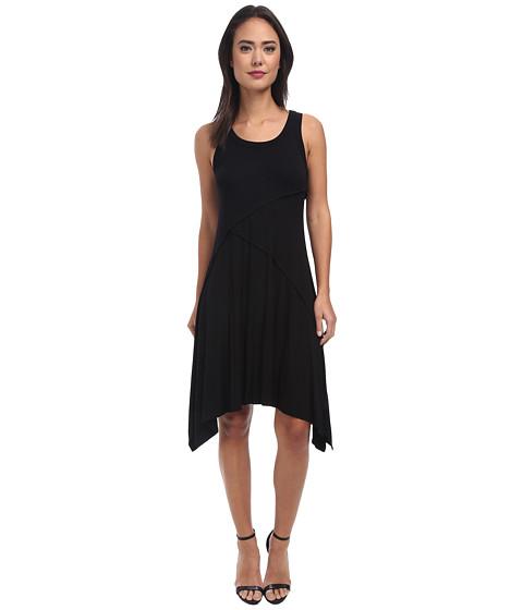 Karen Kane - Rory Reverse Seam Dress (Black) Women