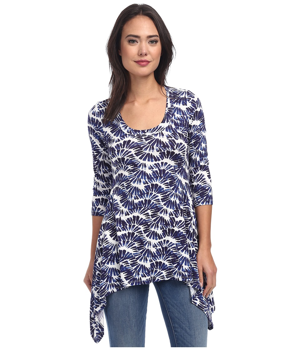 Karen Kane - Kaleidoscope Handkerchief Top (Own) Women's Long Sleeve Pullover