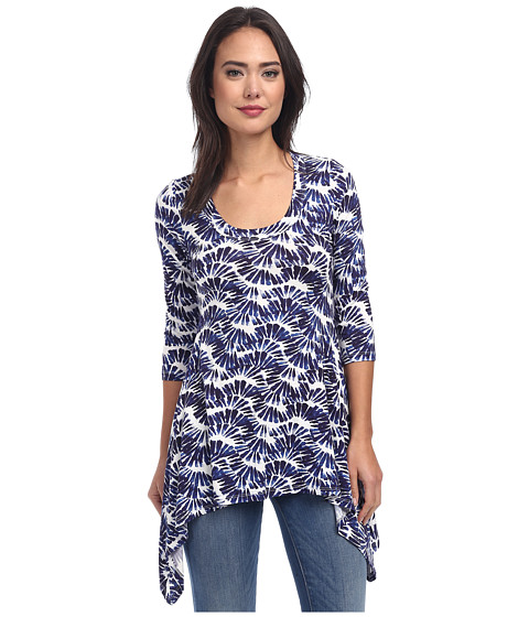 Karen Kane - Kaleidoscope Handkerchief Top (Own) Women
