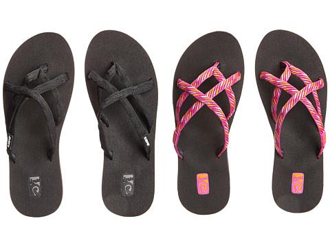 Teva - Olowahu 2-Pack (Mibob/Raina Pink) Women's Sandals