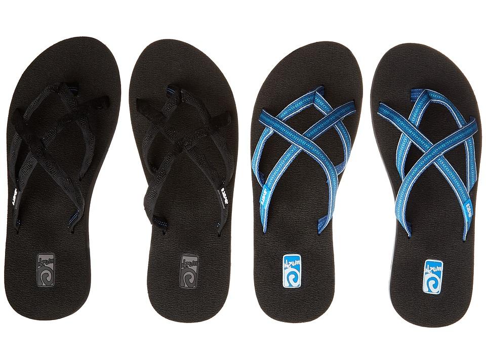 Teva - Olowahu 2-Pack (Mibob/Pintado Blue) Women's Sandals