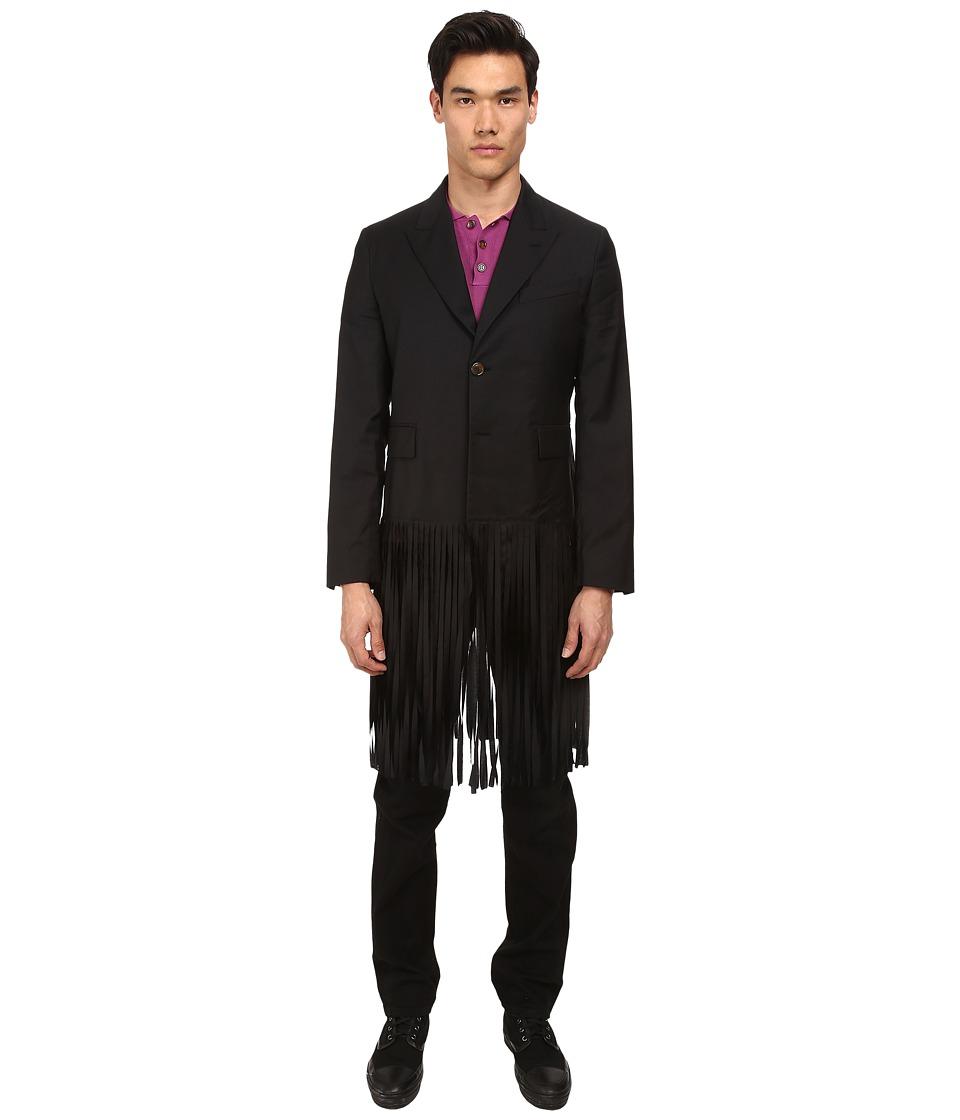 Vivienne Westwood - Fringe Blazer (Black) Men's Jacket