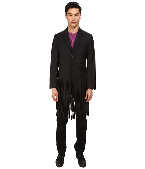 Vivienne Westwood MAN - Fringe Blazer (Black) Men's Jacket