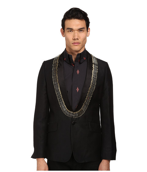 Vivienne Westwood MAN - Safety Pin Evening Jacket (Black) Men