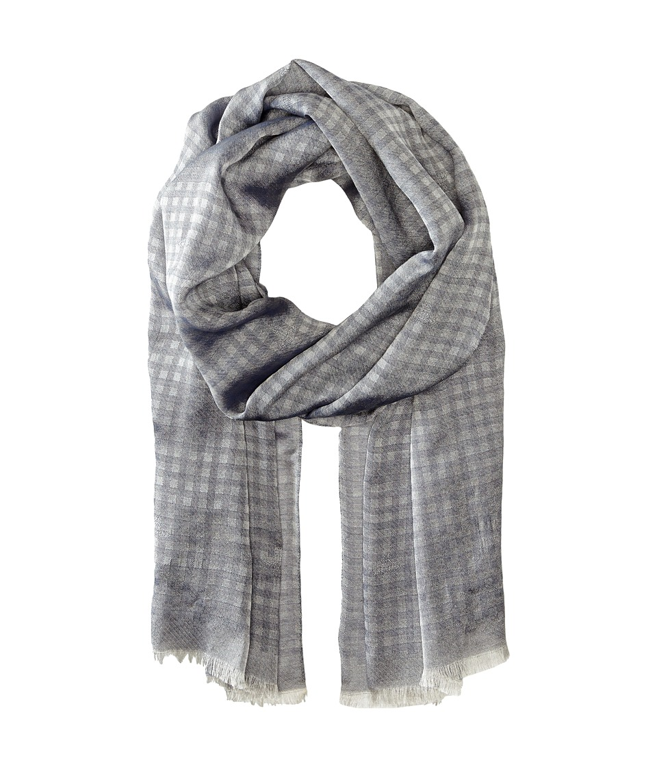 Vivienne Westwood - Plaid Scarf (Black/Navy) Scarves