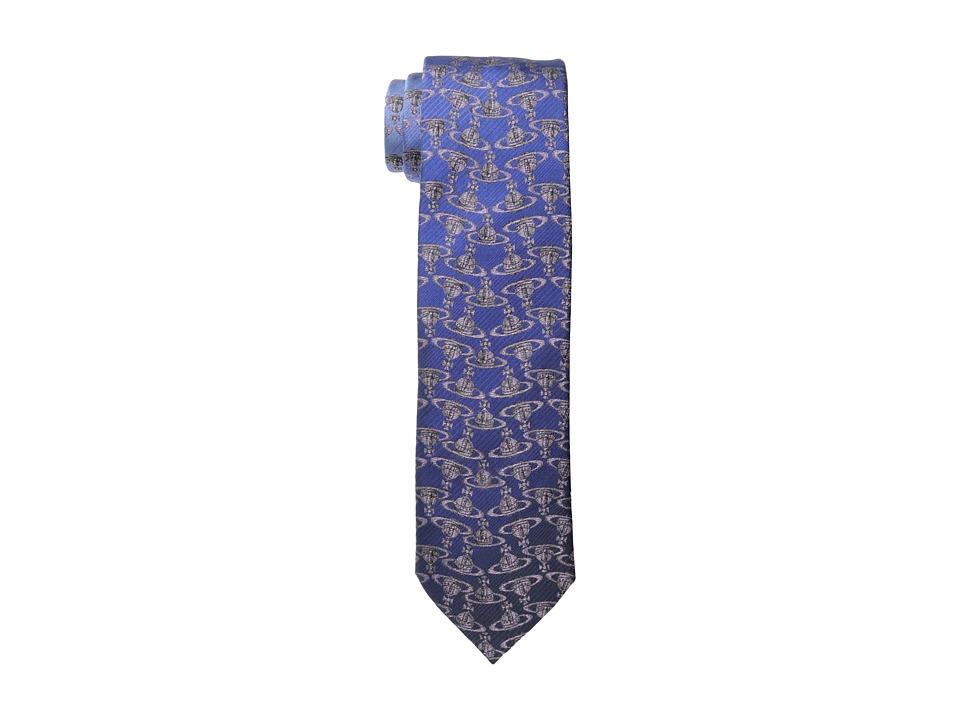 Vivienne Westwood - Orb Tie (Blue/Green) Ties