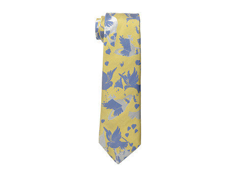 Vivienne Westwood - Bird/Orb Tie (Blue/Yellow) Ties