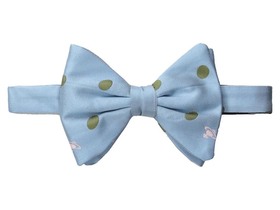 Vivienne Westwood - Polka Dot Bowtie (Blue/Green) Ties