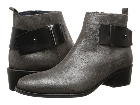 Summit White Mountain - Alessia (Grafite Nero Suede) Women's Zip Boots