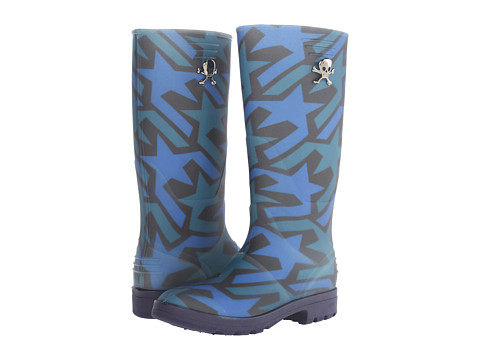 Vivienne Westwood - Wellie Boot (Star Print) Men