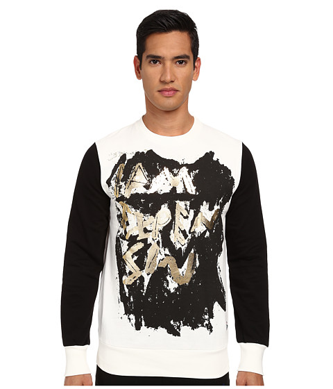 Vivienne Westwood MAN - I'm Expensive Sweatshirt (Off White) Men's Sweatshirt