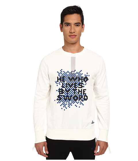 Vivienne Westwood MAN - He Who Lives Sweatshirt (Off White) Men