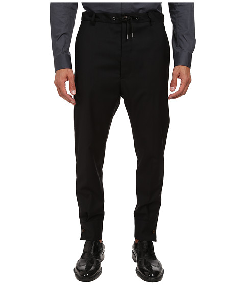 Vivienne Westwood MAN - Shirt Cuff Trouser (Black) Men