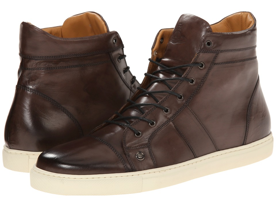 Vivienne Westwood Washed Ankle Sneaker (Brown/W09) Men