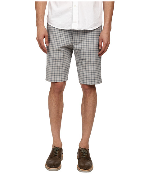 Vivienne Westwood MAN - Check and Stripe Panel Short (Grey Multi) Men's Shorts