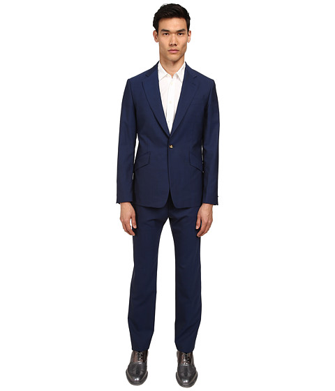 Vivienne Westwood MAN - Classic Wool James Suit (Blue Royal) Men