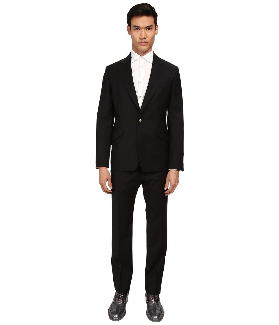 Vivienne Westwood MAN - Classic Wool James Suit (Black) Men's Suits Sets