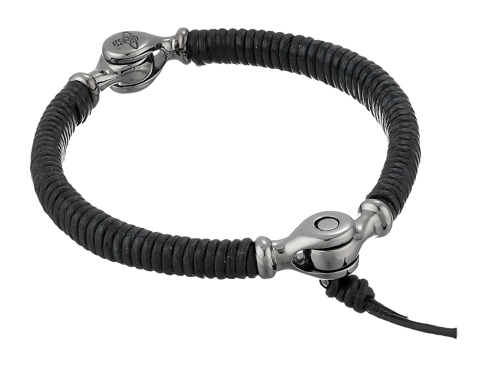 Vivienne Westwood - Ryan Bangle Bracelet (Black) Bracelet