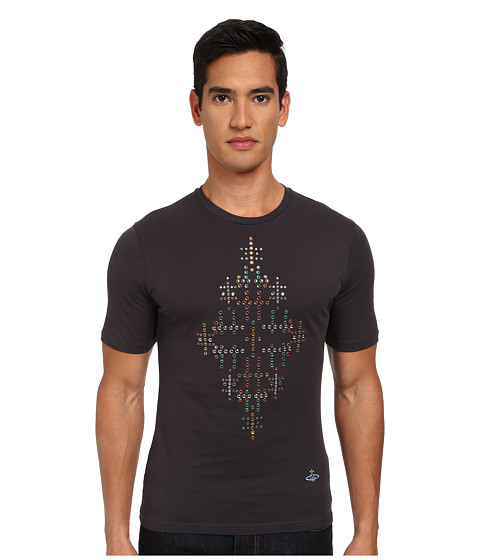 Vivienne Westwood MAN - Nudie Diamonds Tee (Carbon) Men's T Shirt