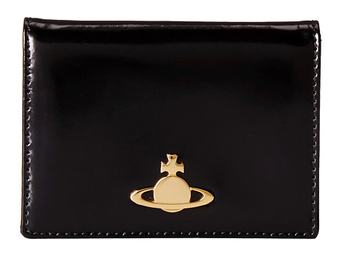 Vivienne Westwood - Piccola Card Holder (Black) Credit card Wallet