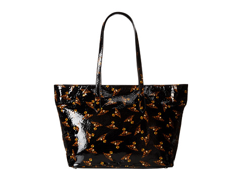 Vivienne Westwood - Time Machine Tote Bag (Black) Tote Handbags